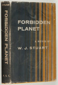 Books:Science Fiction & Fantasy, W. J. Stuart. Forbidden Planet. New York: Farrar, Straus andCudahy, [1956]. First edition, first printing. Publishe...