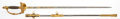 Edged Weapons:Swords, Magnificent Silver Grip Superb Quality Presentation U.S. M1860 Staff & Field Officer's Sword....