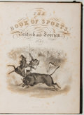 Books:Sporting Books, [Steel Engravings]. The Book of Sports, British and Foreign.London: Walter Spiers, 1843. Quarto. 92 pages. Contempo...