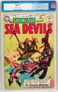 Silver Age (1956-1969):Superhero, Showcase #27 Sea Devils (DC, 1960) CGC NM- 9.2 Cream to off-white pages....