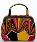 Luxury Accessories:Bags, Heritage Vintage: Emilio Pucci Classic Print Small Tote. ...