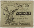 Books:Americana & American History, [Chicago World's Fair of 1894]. The Magic City.Philadelphia: Smith and Graham, 1894. First seventeen oblong qua...