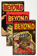 Golden Age (1938-1955):Horror, The Beyond Group (Ace, 1951-52).... (Total: 5 Comic Books)
