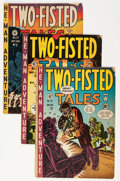 Golden Age (1938-1955):War, Two-Fisted Tales Group (EC, 1951-55) Condition: Average GD/VG....(Total: 15 Comic Books)