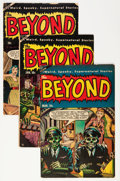 Golden Age (1938-1955):Horror, The Beyond #23-30 Group (Ace, 1954-55).... (Total: 8 Comic Books)