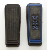 Dunlop Cry Baby Wah/Vox Volume Effects Pedal Lot of 2