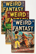 Golden Age (1938-1955):Science Fiction, Weird Fantasy Group (EC, 1951-53).... (Total: 11 Comic Books)