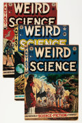 Golden Age (1938-1955):Science Fiction, Weird Science Group (EC, 1951-53).... (Total: 5 Comic Books)