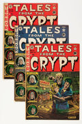 Golden Age (1938-1955):Horror, Tales From the Crypt #24-28 Group (EC, 1951-52) Condition: AverageVG+.... (Total: 5 Comic Books)