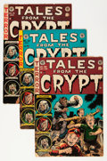 Golden Age (1938-1955):Horror, Tales From the Crypt Group (EC, 1951-55) Condition: Average FR....(Total: 12 Comic Books)