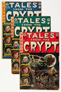Golden Age (1938-1955):Horror, Tales From the Crypt Group (EC, 1951-54) Condition: Average VG-....(Total: 6 Comic Books)