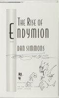 Books:Science Fiction & Fantasy, Dan Simmons. SIGNED WITH ORIGINAL DRAWING. The Rise of Endymion. New York: Bantam, [1997]. First edition. Signed b...