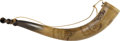"Entertainment Collectibles:Theatre, William F. ""Buffalo Bill"" Cody: Decorative Horn...."