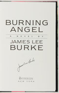 Books:Mystery & Detective Fiction, James Lee Burke. SIGNED. Burning Angel. New York: Hyperion,[1995]. First edition. Signed by the author. Wit...