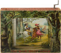"Antiques, ""The Wild West Show"": A Rare Mechanical Cardboard ""Stage"" and Show,Circa 1880s-90s by McLoughlin Bros. ..."