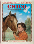 Books:Children's Books, Sandra Day O'Connor. SIGNED BY O'CONNOR. Chico. Illustratedby Dan Andreasen. [New York]: Dutton, [2005]. First ...