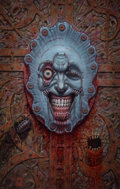 Paintings, JOHN RHEAUME (American, 20th Century). Clive Barker's Book of the Damned II - A Hellraiser Companion cover, (Epic Comics)...