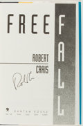 Books:Mystery & Detective Fiction, Robert Crais. SIGNED. Free Fall. New York: Bantam, [1993].First edition. With dust jacket. Fine....
