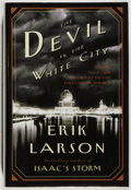 Books:Americana & American History, Erik Larson. SIGNED. The Devil in the White City. New York:Crown, [2003]. First edition. With dust jacket. Fine...