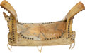 Western Expansion:Indian Artifacts, Plains Indians: A Fine Saddle, with Accompanying Research Attributing It to the Cheyenne War Chief Two Moons, a Major Figure a... (Total: 2 Items)
