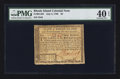 Colonial Notes:Rhode Island, Rhode Island July 2, 1780 $3 PMG Extremely Fine 40 EPQ.. ...