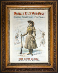 Annie Oakley: One of the Most Sought-after of all Buffalo Bill's Wild West Posters