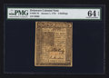 Colonial Notes:Delaware, Delaware January 1, 1776 4s PMG Choice Uncirculated 64 EPQ.. ...