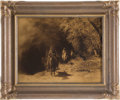 "Photography, Edward S. Curtis, Photographer. ""Out of Darkness"" a Rare and Unusual Vintage Goldtone in Original Frame...."