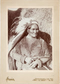 Photography:Cabinet Photos, Geronimo: A Superb and Rare 1899 Cabinet Photo by William E. Irwin. ...