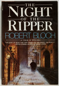 Books:Horror & Supernatural, Robert Bloch. SIGNED. The Night of the Ripper. Garden City: Doubleday, 1984. First edition, first printing. Signed...