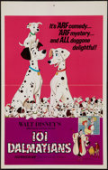 "Movie Posters:Animation, 101 Dalmatians (Buena Vista, R-1969). Window Card (14"" X 22""). Animation.. ..."