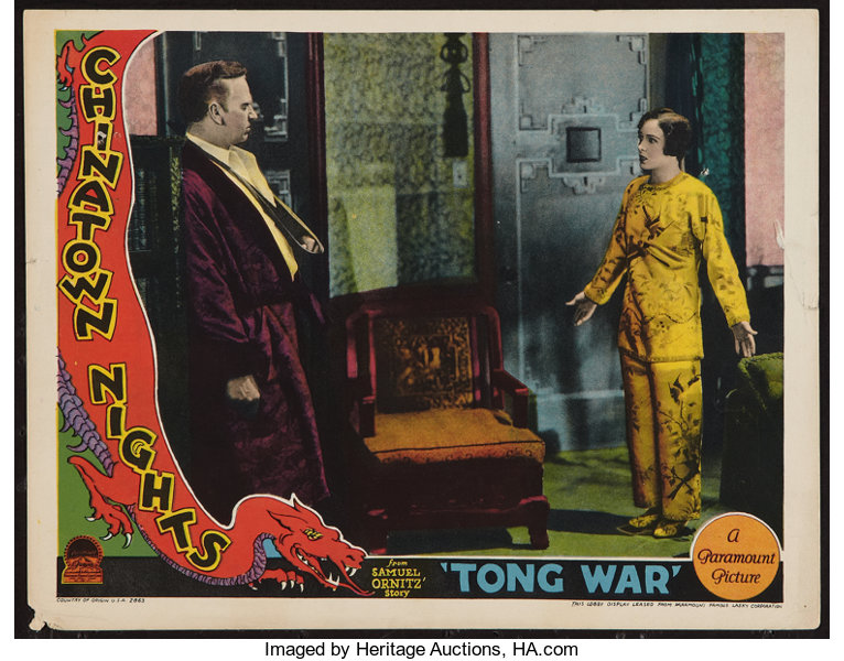 Chinatown Nights Paramount 1929 Lobby Card 11 X 14 Crime Lot 50085 Heritage Auctions