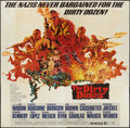 "Movie Posters:War, The Dirty Dozen (MGM, 1967). Six Sheet (81"" X 81""). War.. ..."