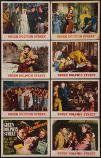 "Green Dolphin Street (MGM, R-1955). Lobby Card Set of 8 (11"" X 14""). Adventure. ... (Total: 8 Items)"