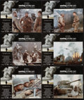 """Movie Posters:War, Saving Private Ryan (Paramount, 1998). Lobby Card Set of 12 (11"""" X14""""). War.. ... (Total: 12 Items)"""