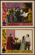 """Movie Posters:Romance, The Spanish Dancer (Paramount, 1923). Lobby Cards (2) (11"""" X 14""""). Romance.. ... (Total: 2 Items)"""