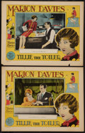 "Movie Posters:Comedy, Tillie the Toiler (MGM, 1927). Lobby Cards (2) (11"" X 14""). Comedy.. ... (Total: 2 Items)"