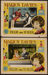 """Tillie the Toiler (MGM, 1927). Lobby Cards (2) (11"""" X 14""""). Comedy. ... (Total: 2 Items)"""