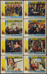 """Rulers of the Sea (Paramount, 1939). Lobby Card Set of 8 (11"""" X 14""""). Adventure. ... (Total: 8 Items)"""