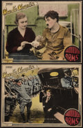 "Movie Posters:Comedy, Shoulder Arms (Pathe, R-1922). Lobby Cards (2) (10"" X 13"").Comedy.. ... (Total: 2 Items)"