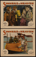 """Movie Posters:Drama, Sinners in Heaven (Paramount, 1924). Lobby Cards (2) (11"""" X 14"""").Drama.. ... (Total: 2 Items)"""