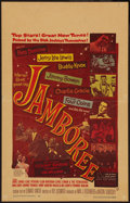 "Movie Posters:Rock and Roll, Jamboree (Warner Brothers, 1957). Window Card (14"" X 22""). Rock andRoll.. ..."