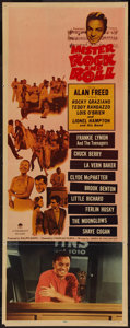 "Movie Posters:Rock and Roll, Mister Rock and Roll (Paramount, 1957). Insert (14"" X 36""). Rockand Roll.. ..."