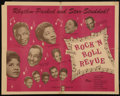 "Movie Posters:Rock and Roll, Rock 'N' Roll Revue (Studio Films, 1955). Half Sheet (22"" X 27.5"").Rock and Roll.. ..."