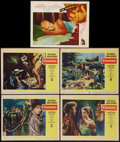 "Movie Posters:Adventure, Ulysses and Other Lot (Paramount, 1955). Lobby Cards (5) (11"" X14""). Adventure.. ... (Total: 5 Items)"