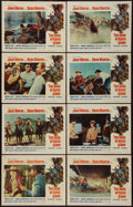 "Movie Posters:Western, The Sons of Katie Elder (Paramount, 1965). Lobby Card Set of 8 (11""X 14""). Western.. ... (Total: 8 Items)"