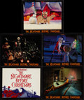 "Movie Posters:Animation, The Nightmare Before Christmas (Touchstone, 1993). Lobby Card Setof 10 (11"" X 14""). Animation.. ... (Total: 10 Items)"