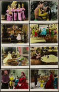 "The King and I (20th Century Fox, 1956). Color Glos Deluxe Photo Lobby Card Set of 8 (11"" X 14""). Musical..."