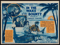 "In the Wake of the Bounty (Universal, 1933). Australian Herald (7"" X 9.5""). Adventure"