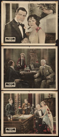 "Movie Posters:Mystery, Whispering Wires (Fox, 1926). Lobby Cards (3) (11"" X 14"").Mystery.. ... (Total: 3 Items)"